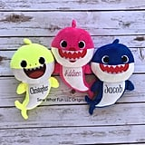 Personalized Baby Shark Plush Dolls