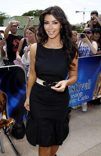 Kim Kardashian in Monte Carlo