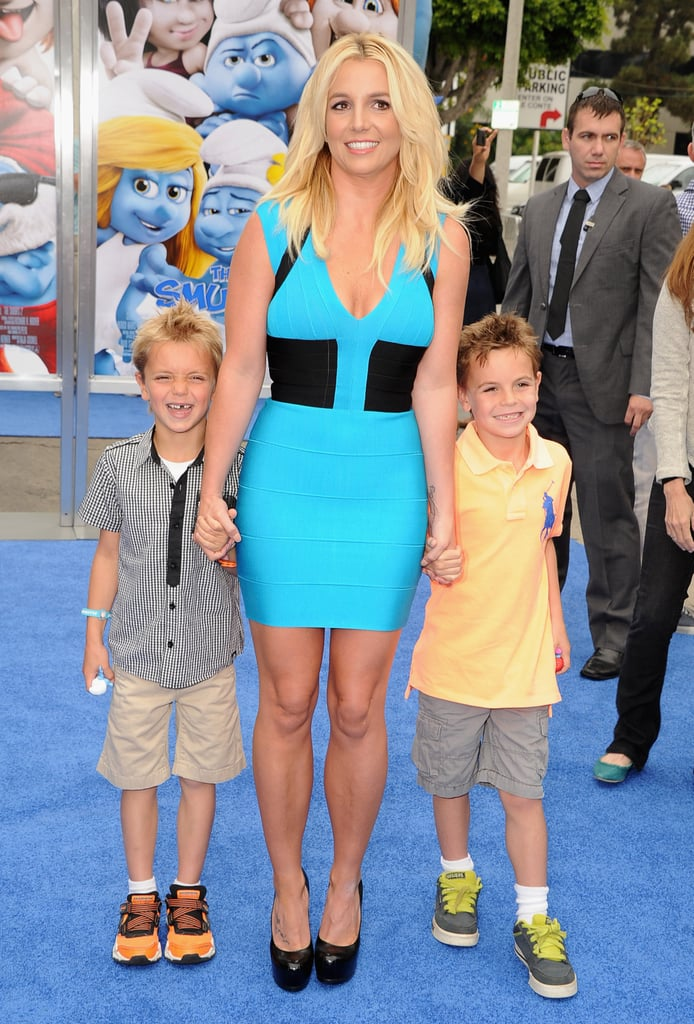 Britney Spears With Her Sons Pictures | POPSUGAR Celebrity