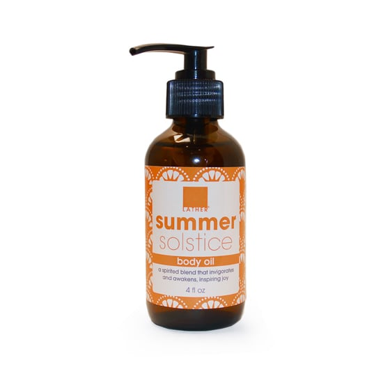 Imagine a seaside spa where the massages are given with sweet-smelling aromatherapy oils. That's exactly what Lather Summer Solstice Body Oil ($16) calls to mind. Add a few drops to your bath or massage it into your skin right after the shower for a soothing beach scent that also moisturizes.  —JC