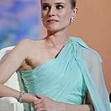 Diane Kruger took in the opening ceremony of the 65th annual Cannes Film Festival.