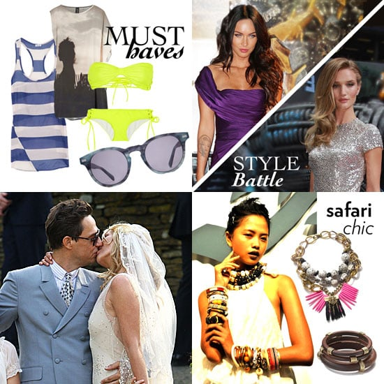 Kate Moss Wedding Pictures and More Fashion News