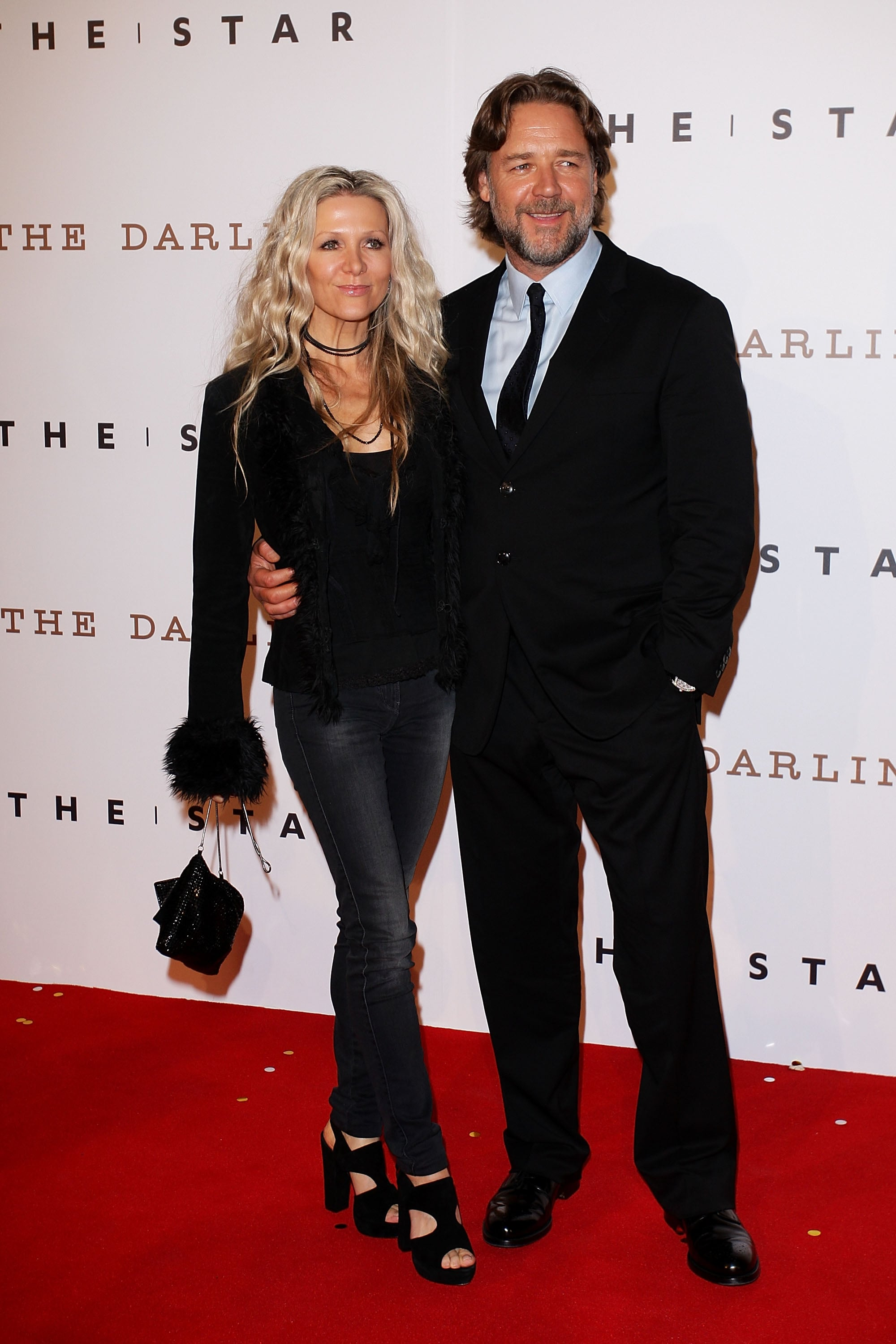 Danielle Spencer and Russell Crowe