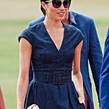 Meghan Markle's Blue Dress With Pockets