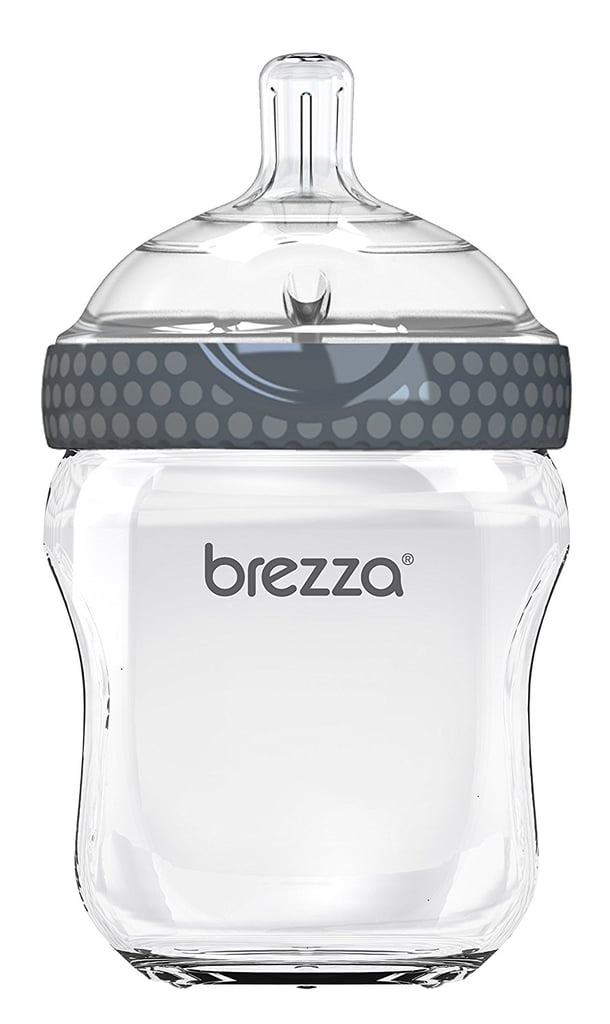 Baby Brezza Two-Piece Natural Glass Baby Bottle
