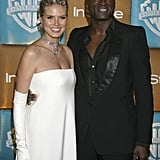 Seal and Heidi posed together at the InStyle and Warner Bros. 2007 Golden Globes afterparty.