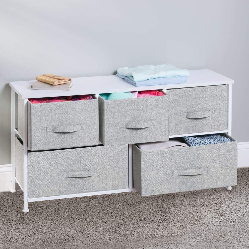 mDesign Extra Wide Dresser
