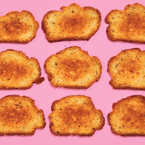 Parm Toasts