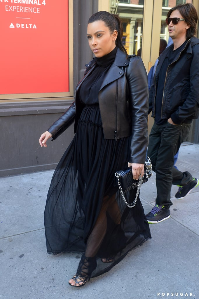 Kim Kardashian Goes From Sears to Dinner at Anna Wintour's