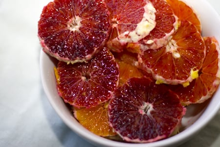 Winter Fruit: Blood Oranges