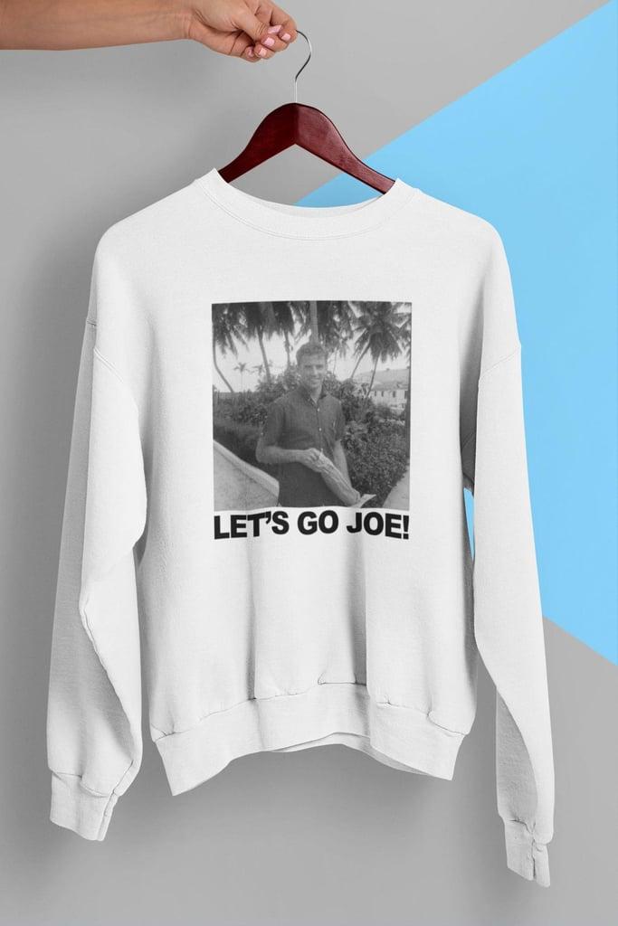 Young Joe Biden Lets Go Joe 2020 Crewneck Sweatshirt