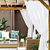 DIY Pergola Curtains