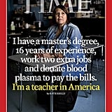 Time Magazine Teacher Covers September 2018