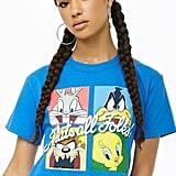 Looney Tunes Cropped Graphic Tee