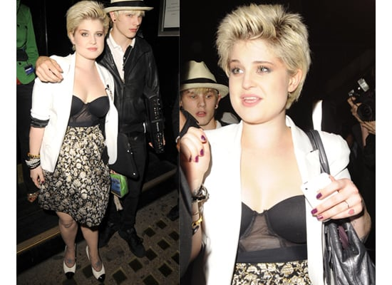 Kelly Osbourne Wears New Season Luella On Night Out in London