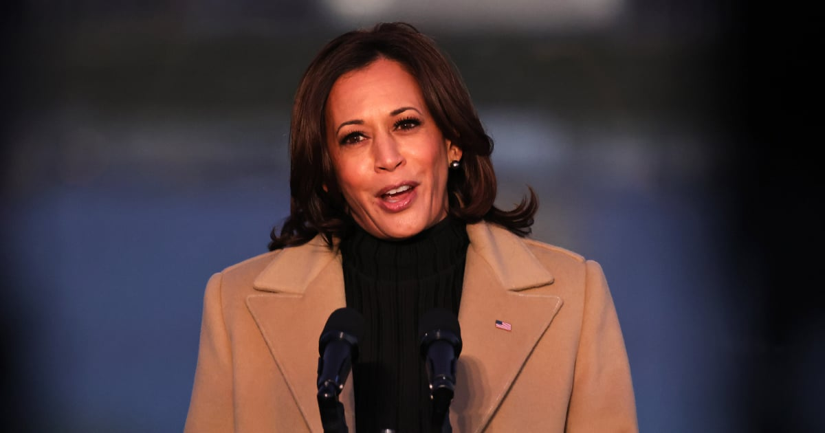 There's an Important Reason Kamala Harris Wore This Pyer Moss Coat to the COVID-19 Memorial