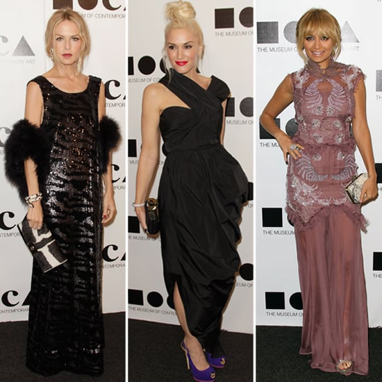 Gwen Stefani, Nicole Richie, and Rachel Zoe Go Glamorous For MOCA