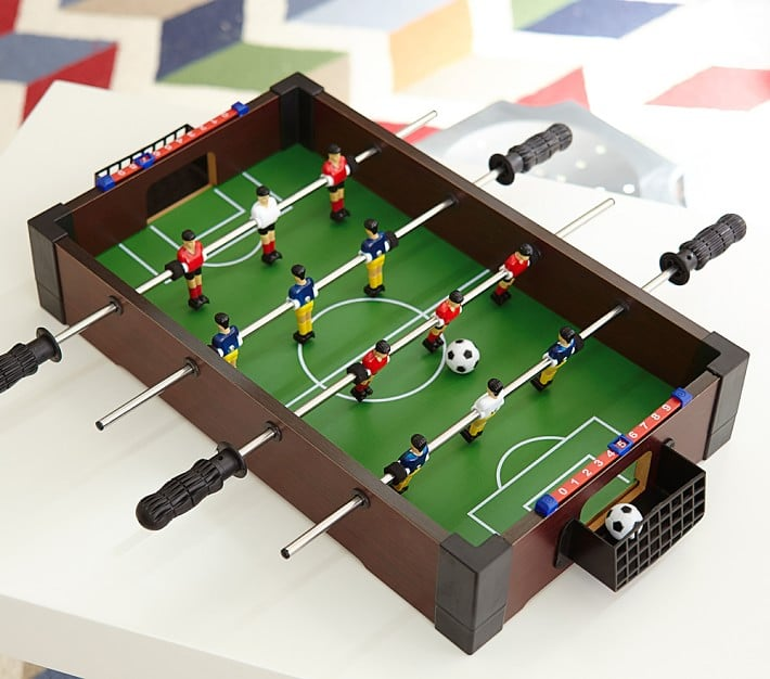 For 5 Year Olds: Tabletop Foosball Table
