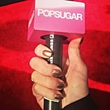 What better way to rock the Golden Globes carpet than with some metallic nails?
