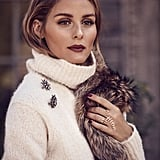 The Olivia Palermo x BaubleBar Peacemaker Ring ($58) looks so good on Olivia's finger, and I want to steer away from dainty jewelry and, in preparation for the holiday season, start experimenting with statement pieces again.  — SW