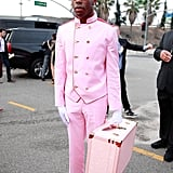 Tyler the Creator's Bellhop Outfit at the Grammys
