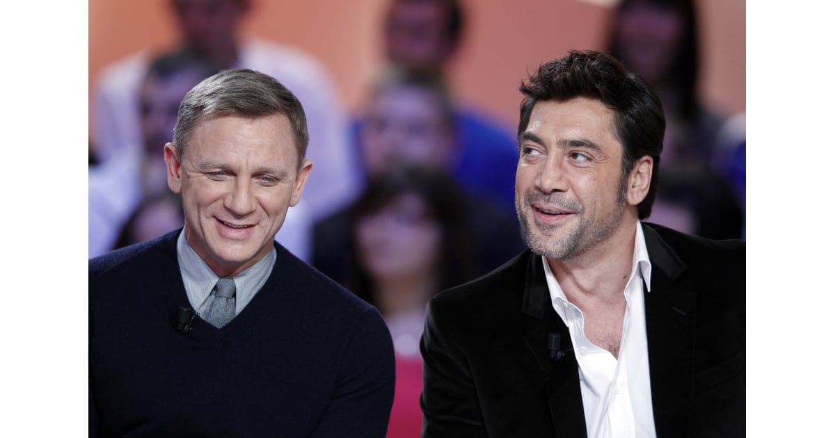 Daniel Craig And Javier Bardem Promoted Skyfall In Paris
