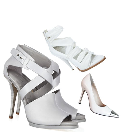 Shop the Top Five White Heels to Shop Online Now: Givenchy, Alexander Wang, Tony Bianco and more!