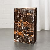 Bonnie: Tri Brown Marble Side Table
