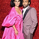 Pictured: Tracee Ellis Ross and Donald Glover