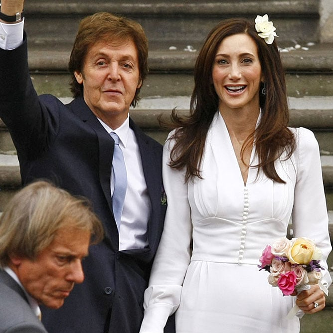 Paul McCartney And Nancy Shevells Wedding Pictures