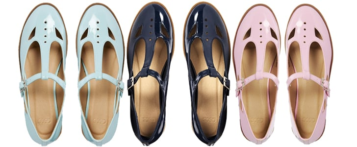 Pastel and Navy Dolly Geek Shoes From ASOS
