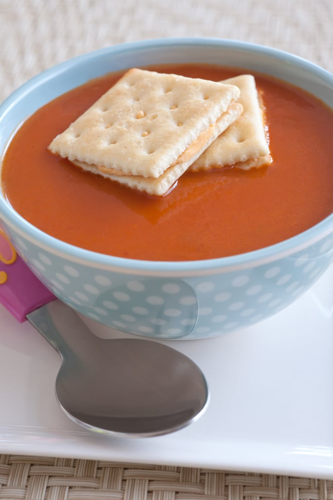 Tomato Soup and Crackers