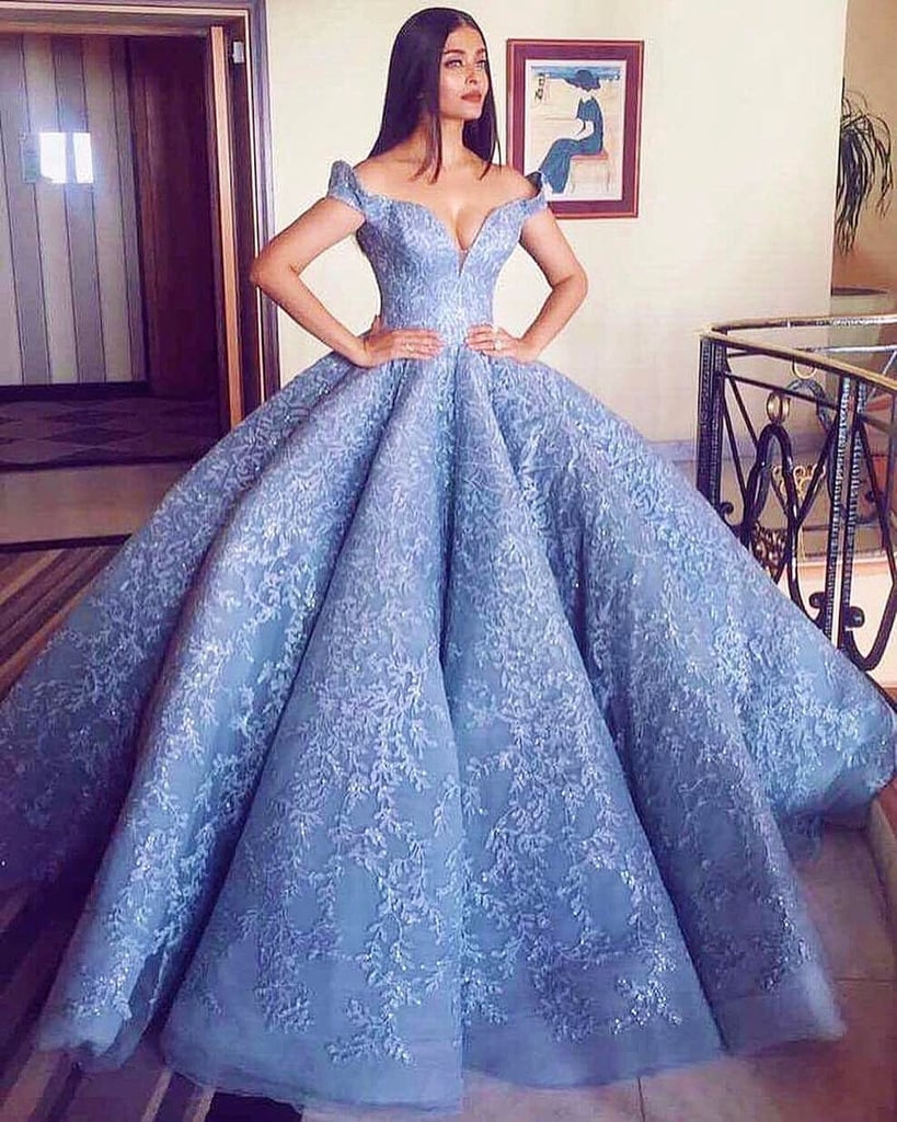 Aishwarya Rai Stuns in Michael Cinco in Cannes