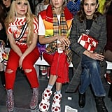 Paloma Faith, Edie Campbell, and Alexa Chung