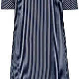 Gloria Coelho Striped Midi Dress