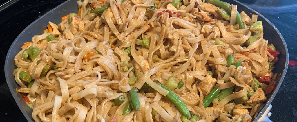 Easy Homemade Chicken-Pad-Thai-Inspired Noodle Recipe