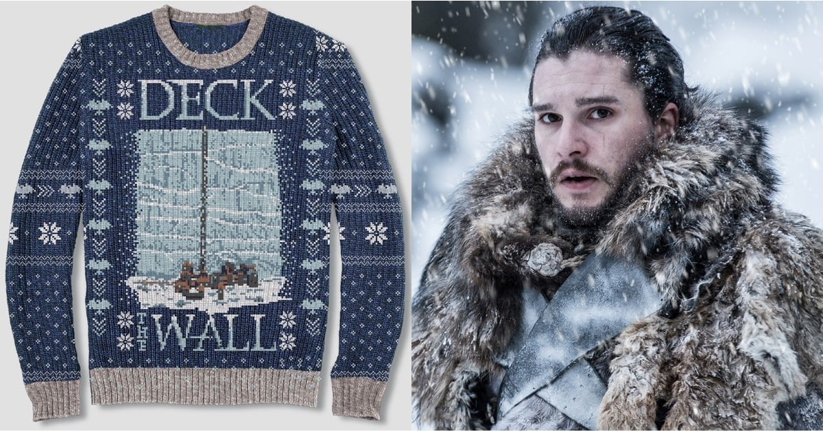 game of thrones ugly christmas sweaters at target 2018 popsugar entertainment. Black Bedroom Furniture Sets. Home Design Ideas