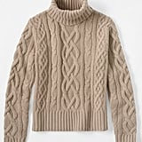 "Land's End's Women's Cashmere Aran Turtleneck and Men's Cashmere Cable Crew ($369) are available for both men and women. ""These are great sweaters for Christmas morning,"" Oprah says."