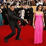 Will Smith let his wife, Jada, have the spotlight in 2007.