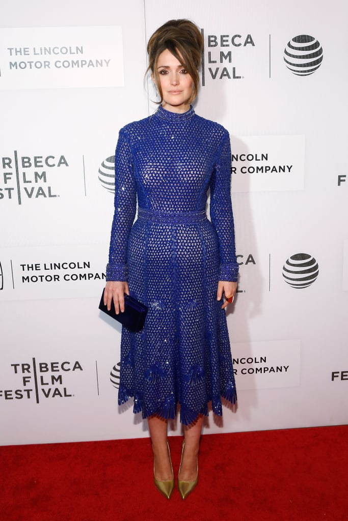 Rose Byrne Derek Lam Dress at Tribeca Film Festival 2016