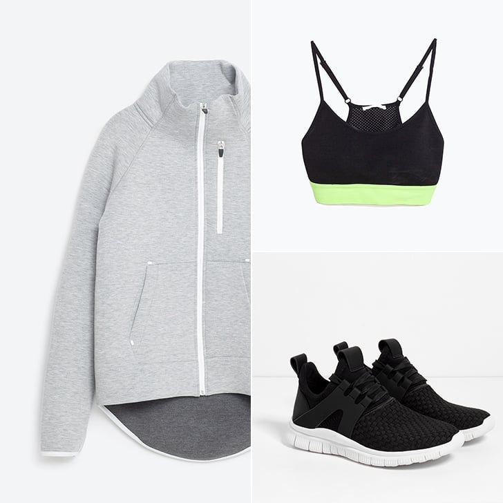 Zara Launches Activewear Collection Gymwear
