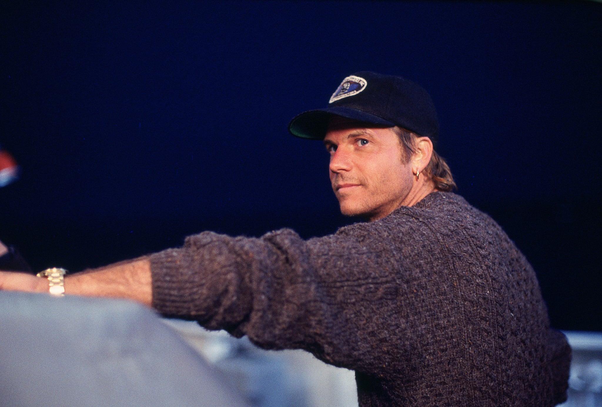 Bill Paxton in Titanic.