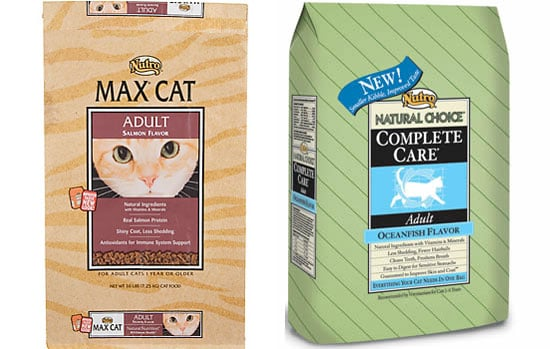 Nutro Recalls Max and Natural Choice Dry Kitty Kibble!