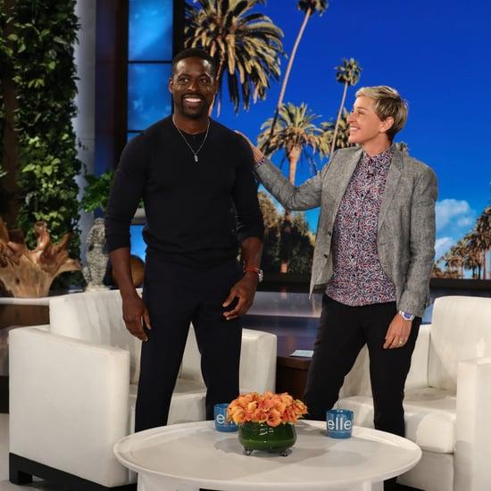 Sterling K. Brown on The Ellen DeGeneres Show May 2018