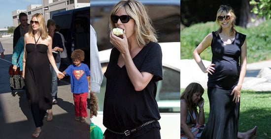 Pregnant Heidi Klum Talks About Not Wearing Maternity Clothes