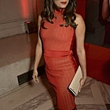 March at the L'Oréal Paris Red Obsession Party in Paris