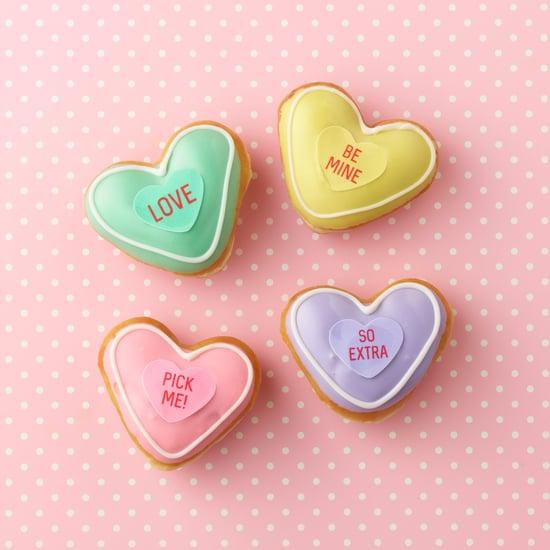 Krispy Kreme Valentine's Day Conversation Doughnuts 2019