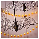 Halloween LED Bat Metal Décor