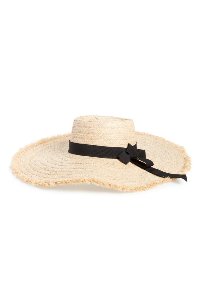 dd1665de Sole Society Wide Brim Sun Hat | Cute Straw Hats 2018 | POPSUGAR ...