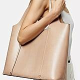 Topshop TAYLOR Pale Pink Tote Bag